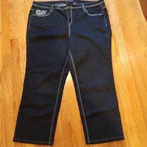 Venetia black jeans